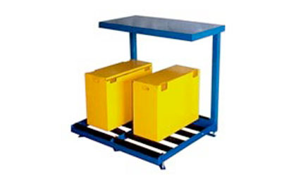 Forklift Battery Charging Stands | Facility Forklift Battery ...