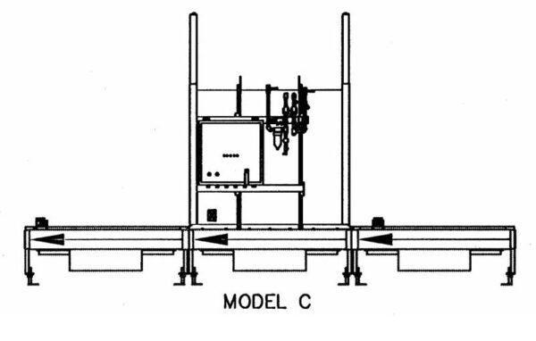 Automatic Battery Wash Model C