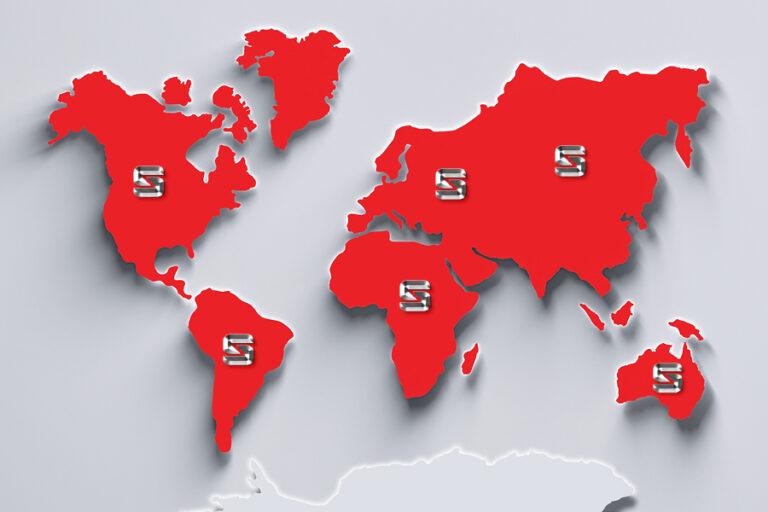Sackett Continents